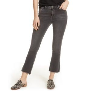Free People Crop Straight Leg Jeans 24 NWT